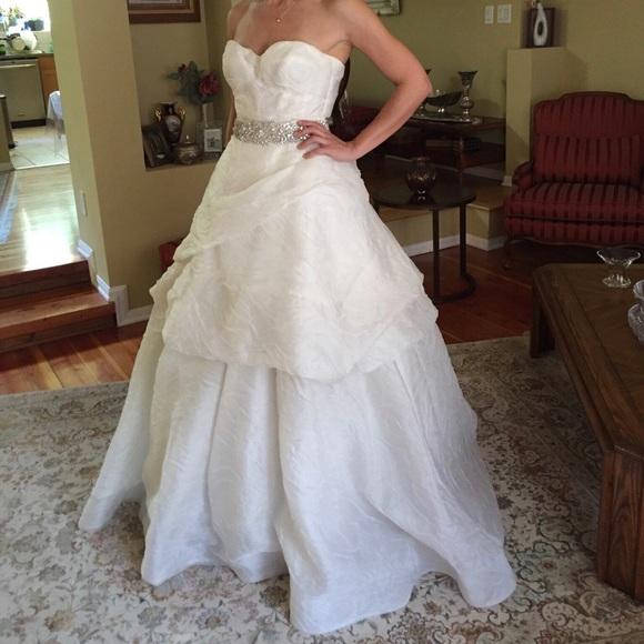 Monique Lhuillier Dresses | Ball Gown Wedding Dress | Poshmark